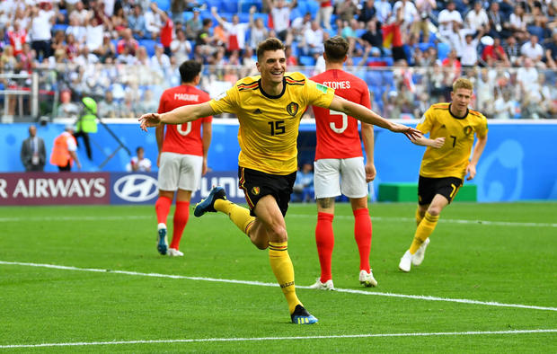 World Cup - Third Place Play Off - Belgium v England