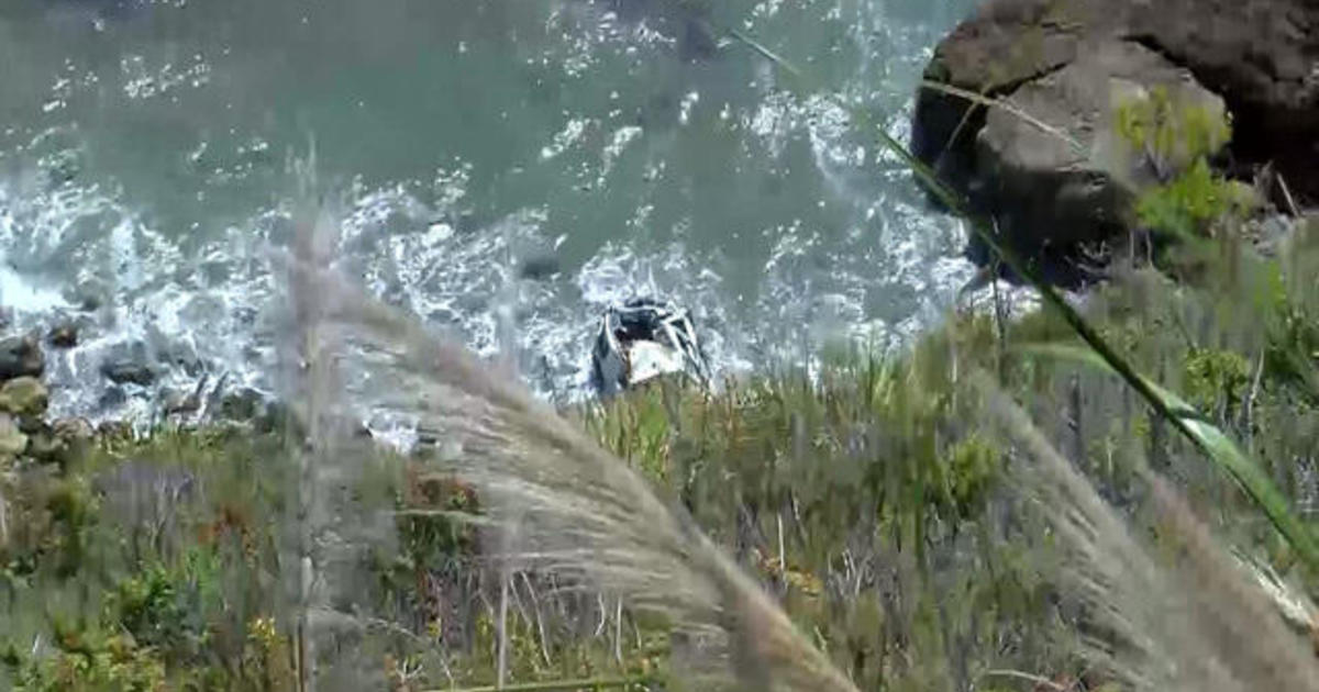 Woman survives a week after driving off California cliff