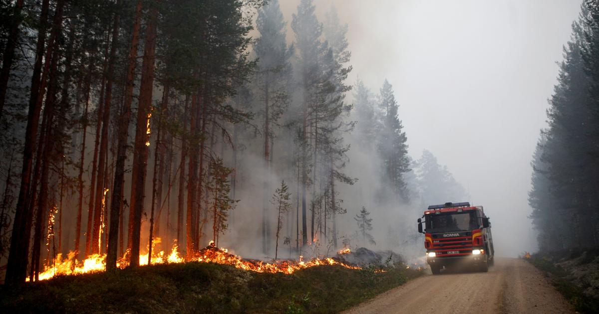 What Is Svt >> Fires in Sweden: Wildfires rage amid intense Nordic heat wave - CBS News