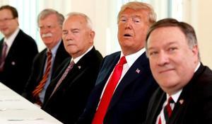 How has Trump's tone changed since Helsinki?