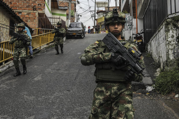 COLOMBIA-CRIME-VIOLENCE-GANGS-SECURITY