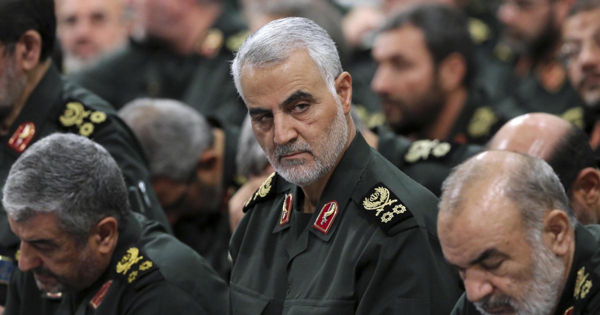 Κορυφή Ιρανός Στρατηγός Qassem Soleimani Σκοτώθηκαν Σε ΑΜΕΡΙΚΑΝΙΚΌ Στρατιωτικό Χτύπημα, το Πεντάγωνο Επιβεβαιώνει