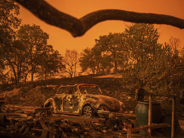 northern california wildfires -- Carr Fire