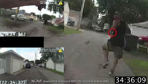 Bodycam video released over fatal police shooting of black man