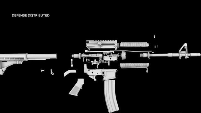 3d printed gun cody wilson says debate is over cbs news malvernweather Images