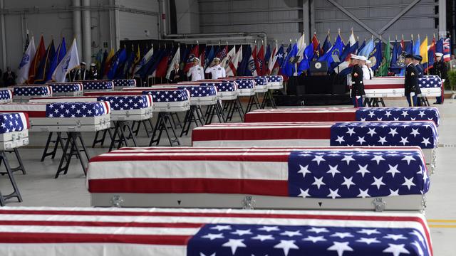 US Korea War Remains