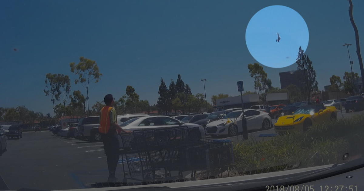 Plane crash Santa Ana, California: Video shows nosedive into