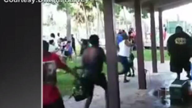 Man opens fire at Titusville back-to-school event