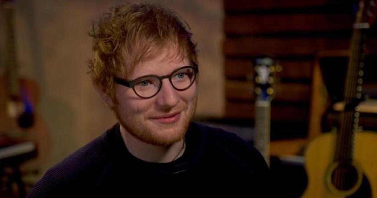 f0e79fa4 Ed Sheeran: Reinventing pop music - CBS News