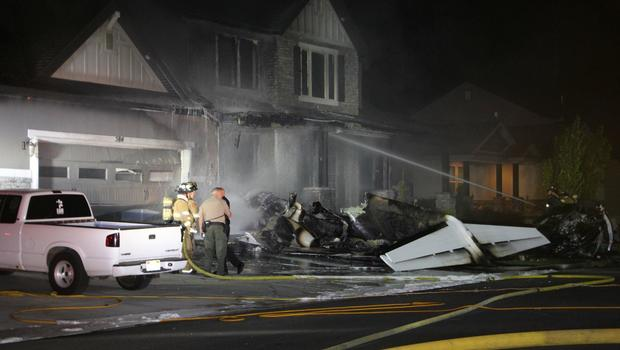Pilot Dies After Crashing Plane Into His Utah Home
