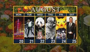 Calendar: Week of August 20