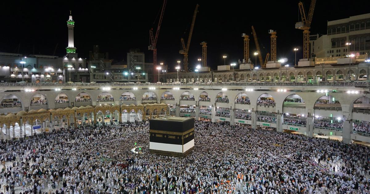 more than 2 million muslims gather in mecca as hajj pilgrimage begins cbs news. Black Bedroom Furniture Sets. Home Design Ideas