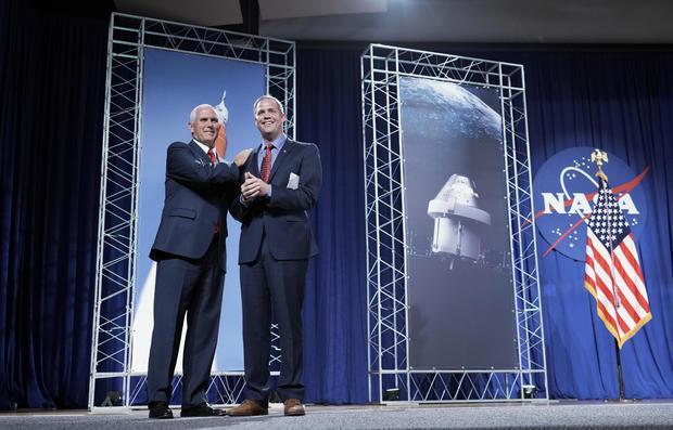 Pence NASA