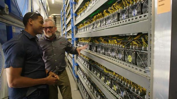 Cryptocurrency mining disrupts small town