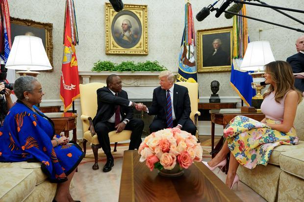 Trump, Kenyatta