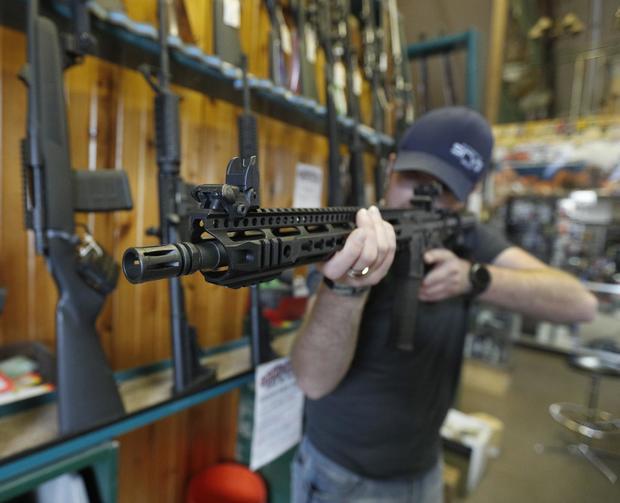 AR-15 Assault Rifles Sold At Utah Gun Shop