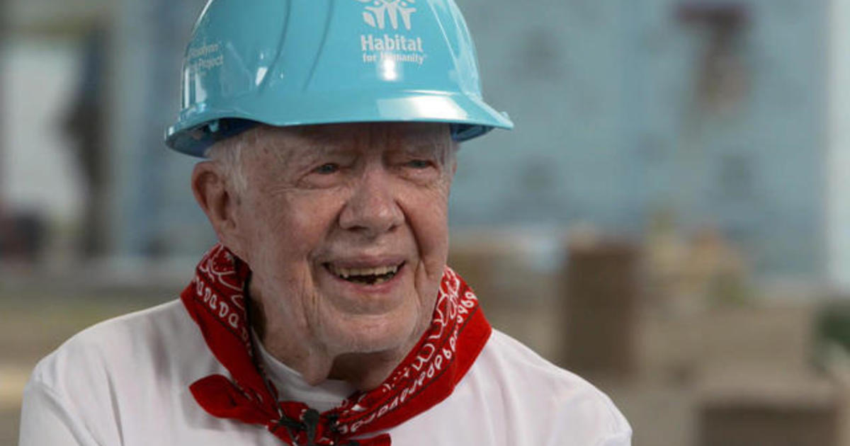 jimmy carter on donald trump the incumbent president is very