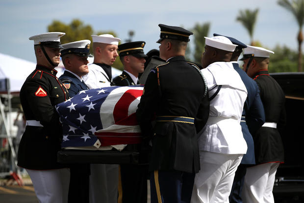 Memorial Service Held For Sen. John McCain At North Phoenix Baptist Church