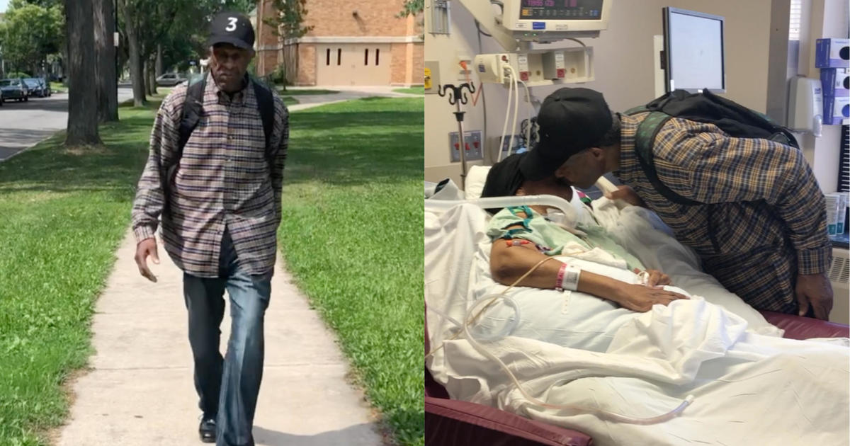 Man Walks 6 Miles A Day To Visit His Wife In The Hospital -8141