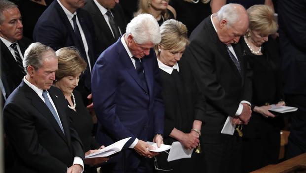 Family, friends say final goodbye to John McCain