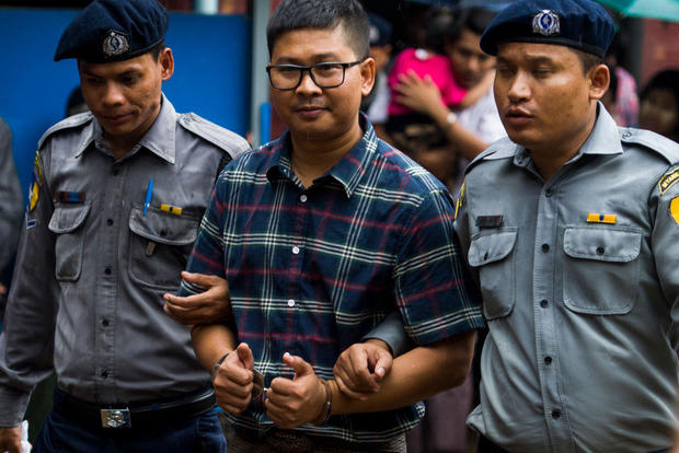 Reuters Reporters Jailed For 7 Years In Landmark Myanmar Secrets Case