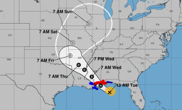 Tropical Storm Gordon tracking to become hurricane tonight