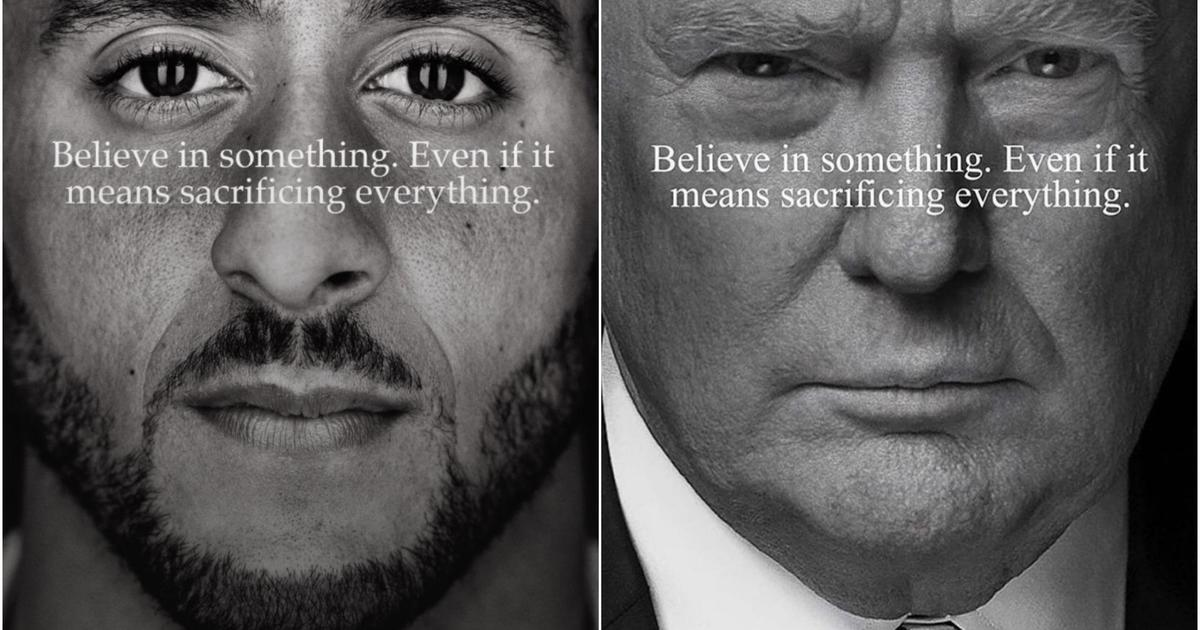 Collin Kaepernick IS THE FACE OF NIKE!