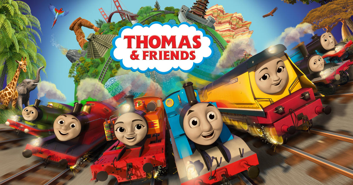 Thomas friends 39 makeover includes two new female main - Background thomas and friends ...