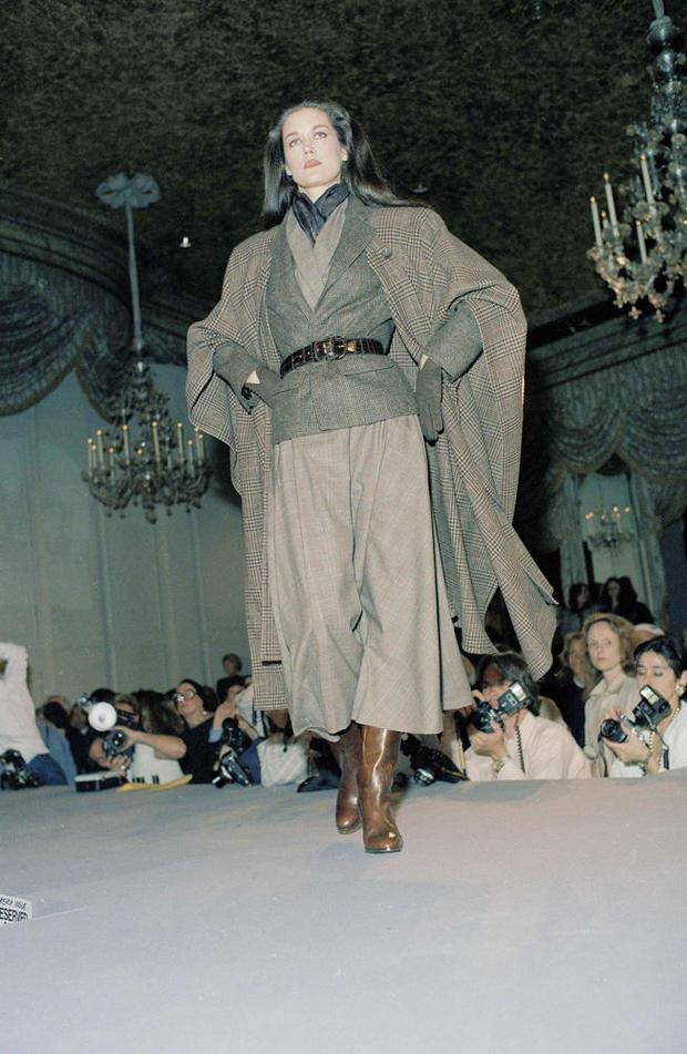 1986 Fall-Winter Fashion Ralph Lauren
