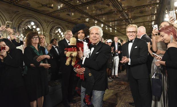 Ralph Lauren's 50th anniversary show