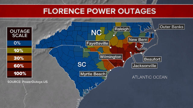 Florence: Once a hurricane, now a tropical storm, Florence