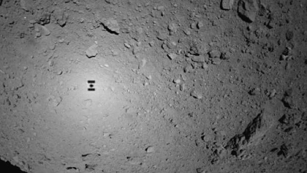 Rovers land on asteroid