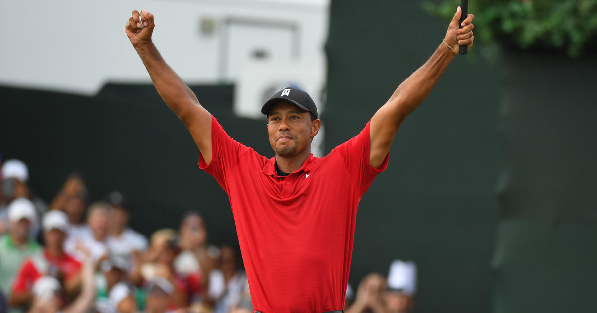 tiger woods  tour championship win today is his first