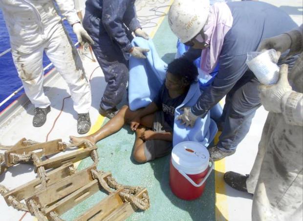 Indonesia Teenager Adrift