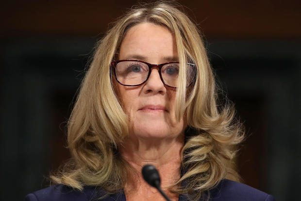 Chhristine Blasey Ford -- Senate Judiciary Committee