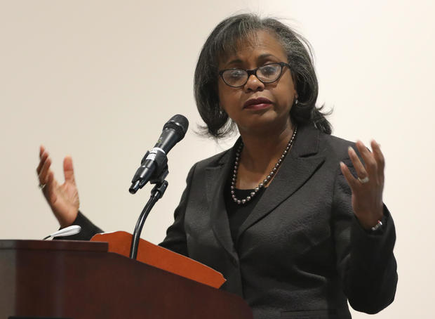 "Law Professor Anita Hill Gives Lecture At Brandeis University Titled ""From Social Movement, To Social Impact"""