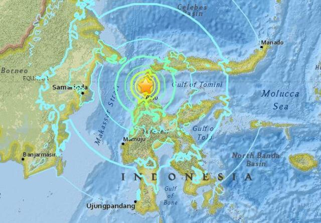 Indonesia earthquake today: Tsunami occurs after 7 5 magnitude quake