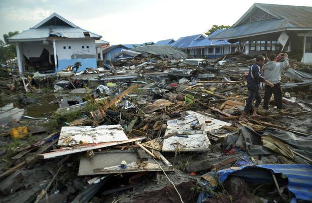 Devastating earthquake and tsunami strike Indonesia