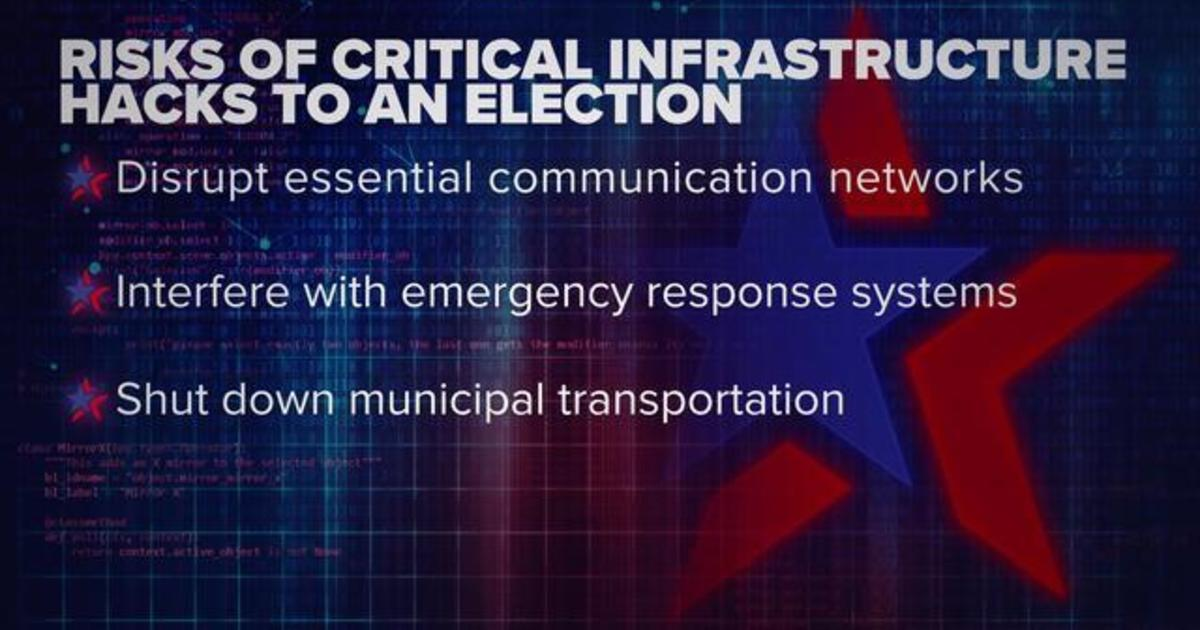 How hackers could target a city's critical infrastructure on Election Day