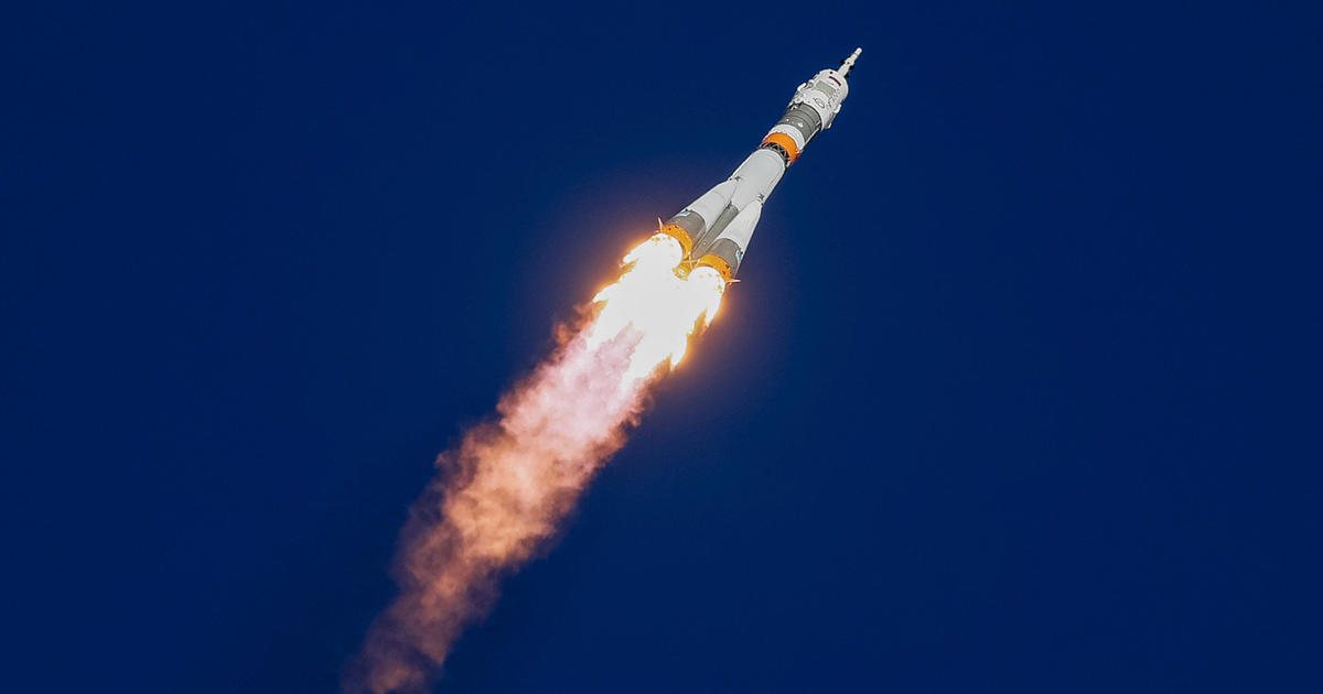 Soyuz rocket launch malfunction on mission to ISS leaves NASA astronaut and 2 Ru...