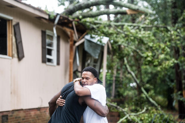 Parts Of South Carolina Affected By Tropical Storm Michael