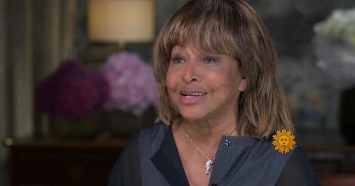 Tina Turner says she thought her voice was