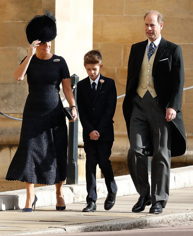 Prince Edward Wedding.Sophie Countess Of Wessex Prince Edward Viscount Severn
