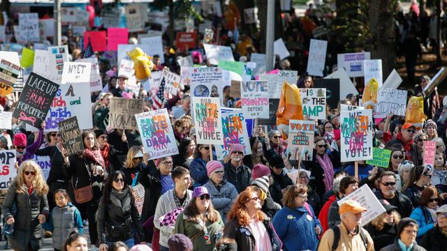 US-POLITICS-WOMEN-DEMONSTRATION-GENDER