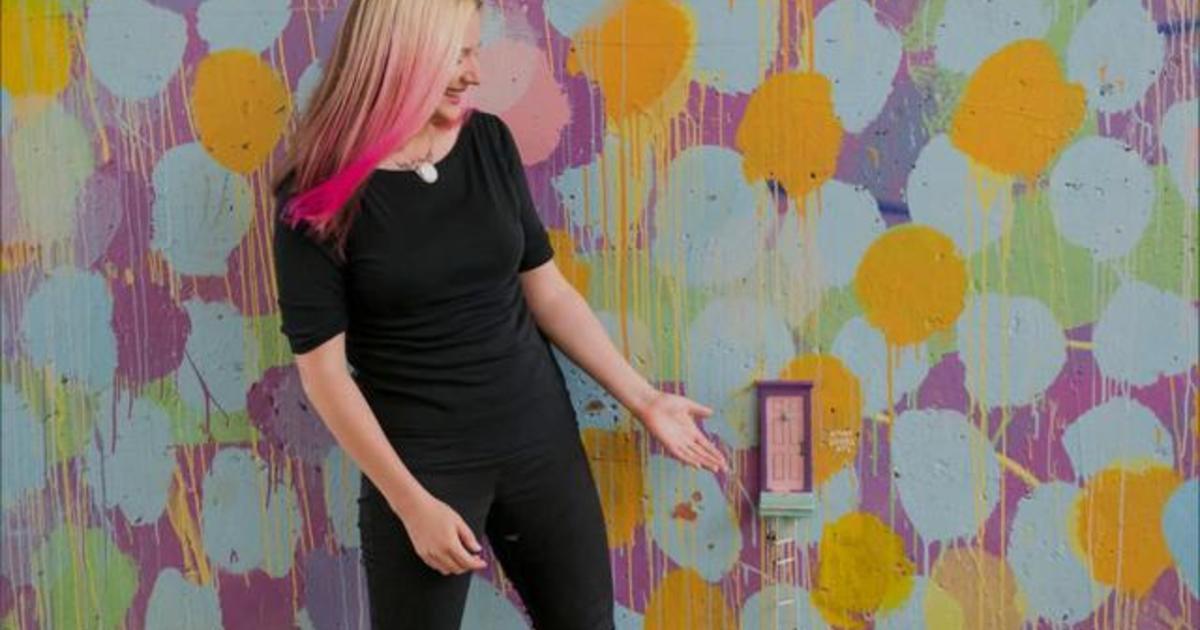 Unlocking The Wonders Of Tiny Doors Atl Karen Anderson S Public Art