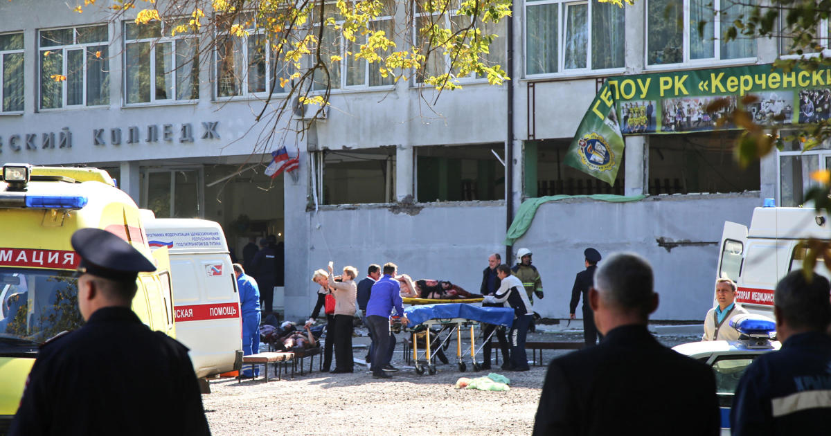 At least 17 killed in attack on college in Russian-annexed Crimea thumbnail