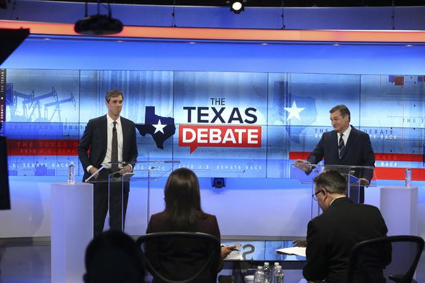 Beto O'Rourke, Ted Cruz debate Texas
