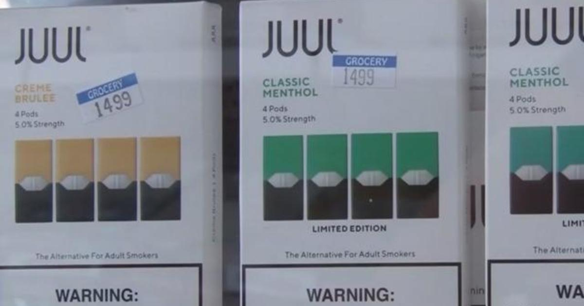 Social media messages promote Juul e-cigarettes to kids - CBS News