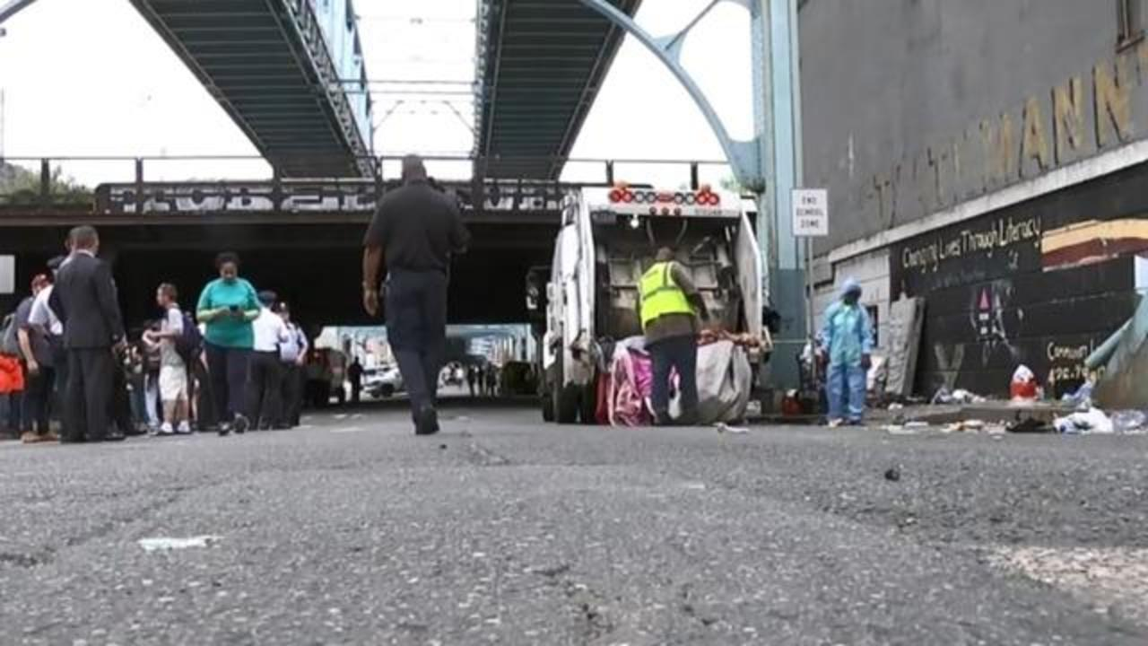 The Walmart Of Heroin How A Philadelphia Neighborhood Became A Case Study In America S Opioid Crisis Cbs News