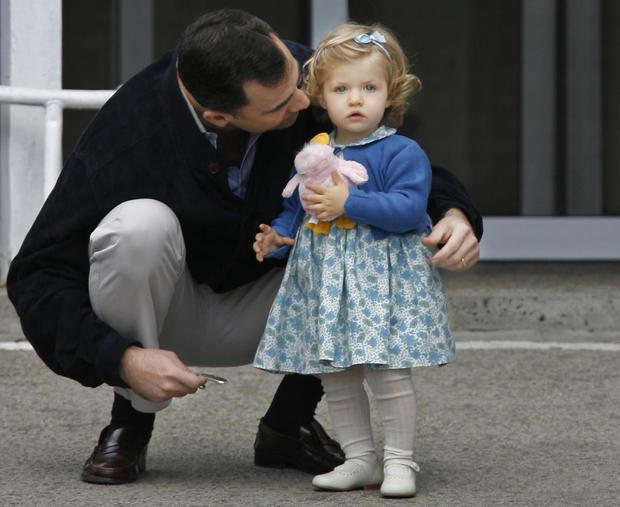 Spain's Crown Prince Felipe, Princess Leonor